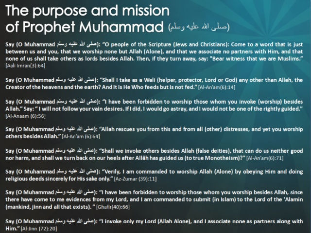 Purpose And Mission Of Muhammad