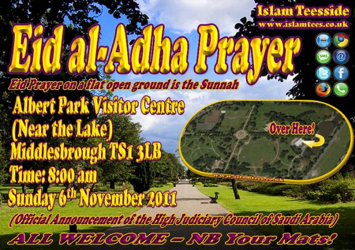 Eid al-Adha 2011 Poster rev1