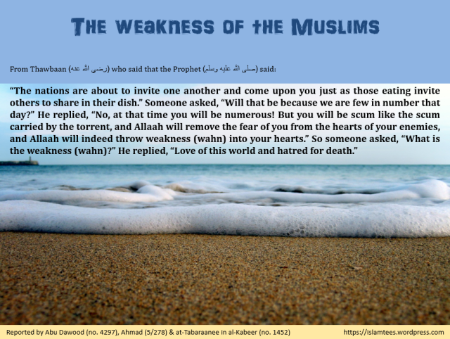 IslamTees_WeaknessOfMuslims